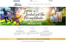 Canine Caviar Pet Foods Inc Home Page – 313 Web Studio