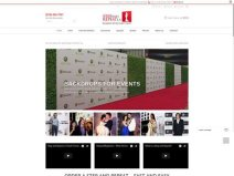 Step And Repeat LA Home Page- 313 Web Studio