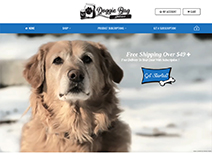 Doggie Bag Delivers - 313 Web Studio